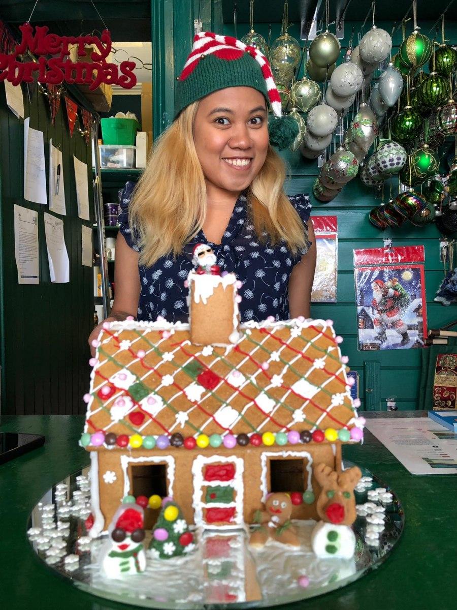Brendas first Gingerbread House 2019