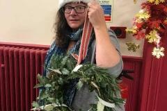 Fi Holland, Lynn Gardens Wreath Making day 2018