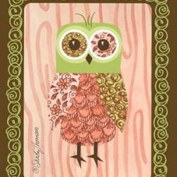 Pink Owl Scent Sachet
