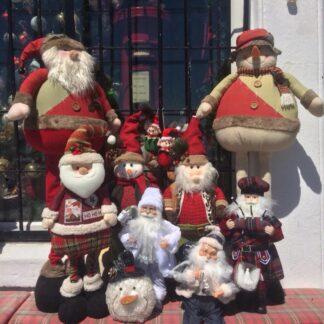 Stand alone Santas, Reindeers & More