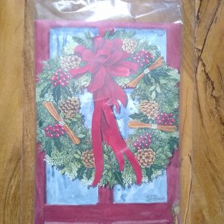 Red Door Wreath Scent Sachet