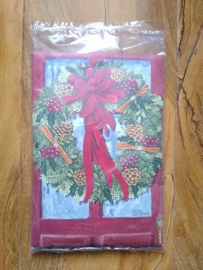 Red Door Wreath Scent Sachet