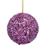 Pink Gisela Graham bauble