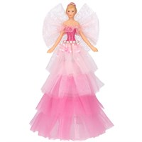 Pink Gisela Graham Tree Topper