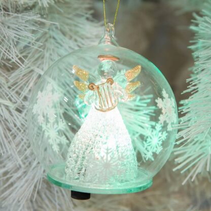 Led glass bauble